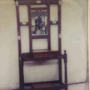 Antique British Oak Hall Stand for Sale in Fort Lauderdale, FL