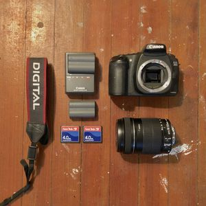 Canon EOS 20D DSLR Package for Sale in Stratford, CT