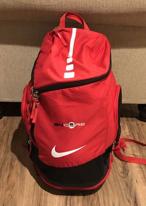 Nike Air Max Elite Hoops Basketball Backpack 2.0 Red and Black for Sale in Sunnyvale, CA