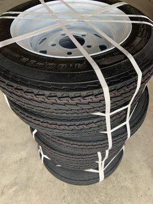 Trailer tire 4.80 - 12 and 205/65-10 for Sale in Miami, FL