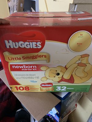 Pampers huggies for Sale in Paterson, NJ