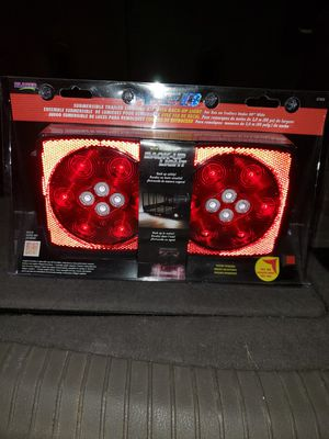 Blazer C7425 LED Square Trailer Light Kit with Integrated Back-Up Lights for Sale in Munster, IN
