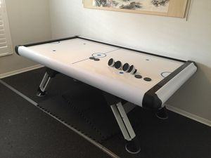 New Air Hockey Table powered up with wifi using smart phone, Alexa or Google $300 for Sale in Orlando, FL