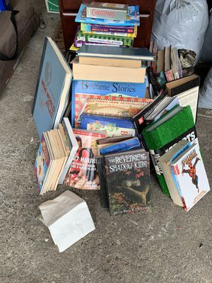 Free books!!! Must take all for Sale in Fife, WA