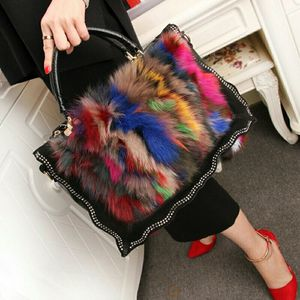 Fur and Leather Handbag for Sale in Dallas, TX