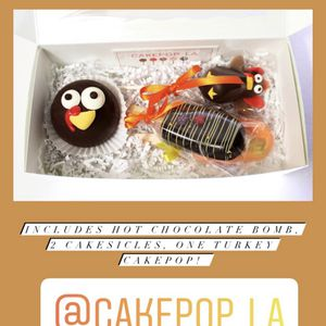 Thanksgiving Treats By Cakepop LA for Sale in Los Angeles, CA