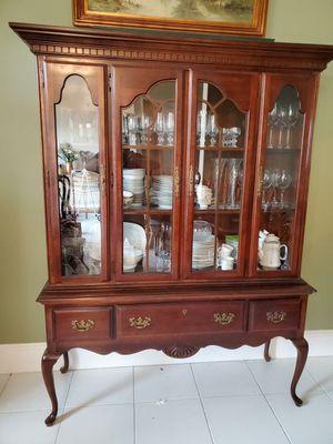 Dining Room Set - formal, cherry wood for Sale in VLG WELLINGTN, FL
