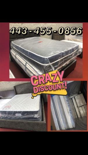 Mattress FREE BOX SPRING for Sale in Washington, DC