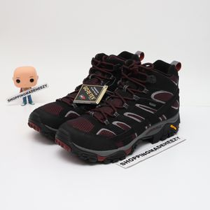 (US 11) Merrell Moab 2 Mid GTX GORE-TEX Men Outdoors Shoes J48993 Black Purple for Sale in Grand Prairie, TX