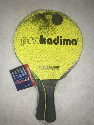 Prokadima sport design racquet game for Sale in Scio, OH