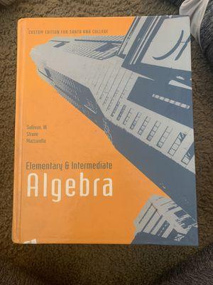 Book Elementary & Intermediate Algebra for Sale in Santa Ana, CA