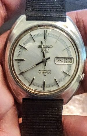 1970s Seiko 21 Jewels Men's Watch Automatic Vintage for Sale in Libertyville, IL