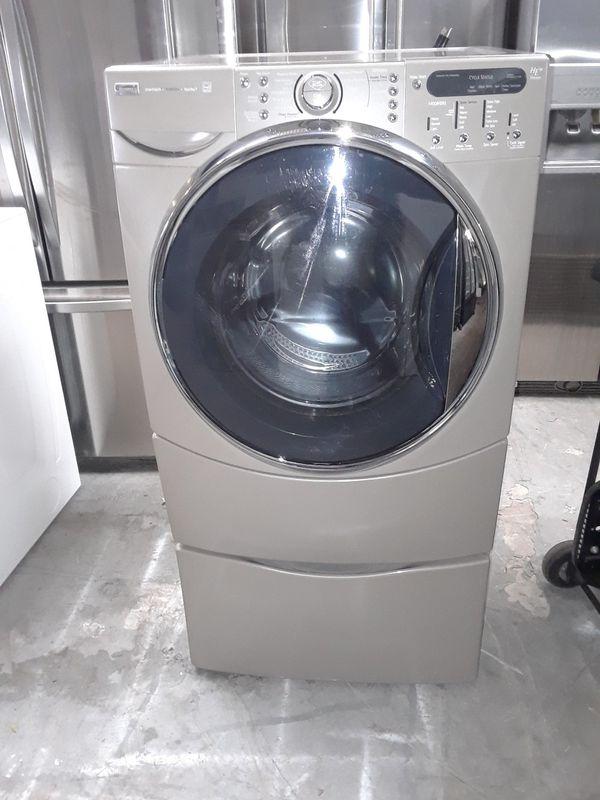 Washer Kenmore good condition pedestal includes 90 days warranty labadora Kenmore buenas condiciones pedestal incluido 90 dias de garantia