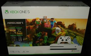 Xbox One S 1TB Minecraft Creator Bundle, White with receipt for Sale in Portland, OR