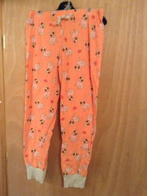 Coral dog PJ Pants Large for Sale in Bend, OR