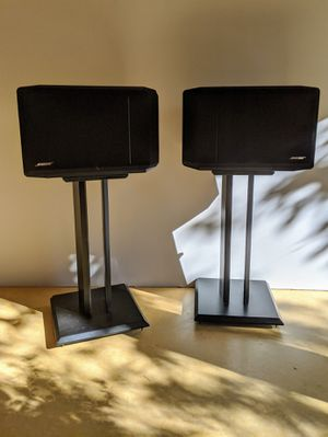Bose 301 Series IV Direct Reflecting Speakers and Stands for Sale in Portland, OR