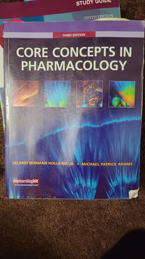 Core Concepts in Pharmacology 3rd edition for Sale in ROWLAND HGHTS, CA