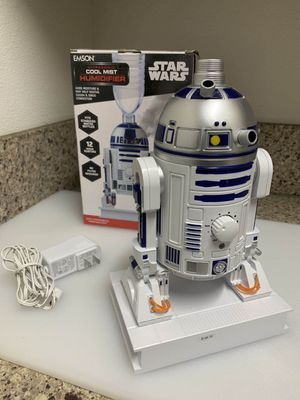 New in box $15 each Ultrasonic STAR WARS R2-D2 Cool Mist Humidifier for Stuffy Air Stop Allergies for Sale in Covina, CA