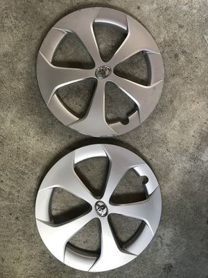 Pair of 2013 Prius hubcaps for Sale in Tacoma, WA