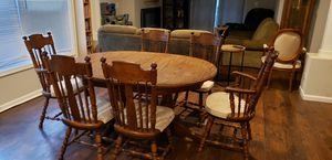 Dining table and chairs for Sale in Frankfort, IL