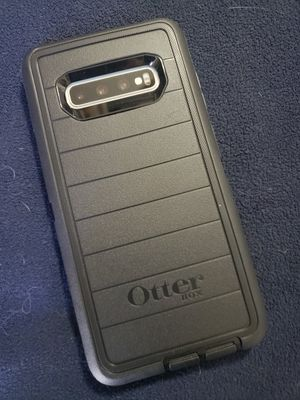 Otter galaxy s10+ slightly used phone for Sale in Jensen Beach, FL