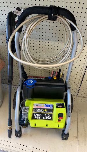 Electric pressure washer, RYOBI for Sale in Silver Spring, MD