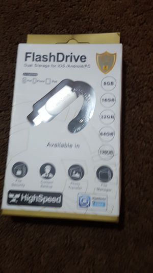 Flash drive iOS/ Android for Sale in Dearborn, MI