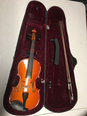 Unknown Brand Violin with Cheekrest and Case for Sale in San Gabriel, CA