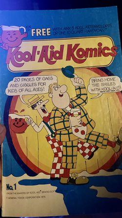 Kool-Aid Komics #1 VG; General Foods for Sale in San Angelo,  TX