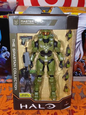 Halo Master Chief The Spartan Collection Action Figuer for Sale in Fullerton, CA