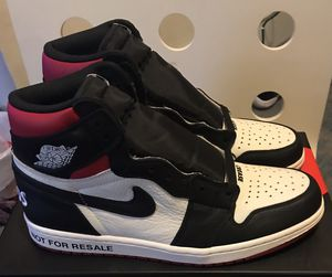 Jordan 1 Retro High OG Not For ReSale With Receipt for Sale in Norwell, MA