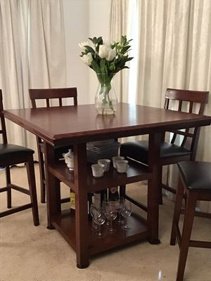 Pub Style Table 4 Chairs for Sale in Norwalk, CA