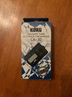 Korg CA-30 chromatic tuner for Sale in Kissimmee, FL