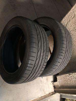 235/50/19 Bridgestone Dueler HP pair for Sale in Phoenix, AZ