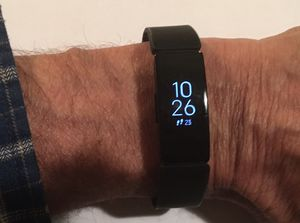 Fitbit Inspire HR Fitness Tracker - like new for Sale in Parma, OH