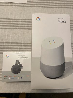 Google Home and Google Chromecast for Sale in West Jordan, UT