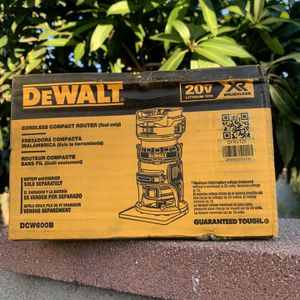 Dewalt20v Xr Router New Tool Only for Sale in Lynwood, CA