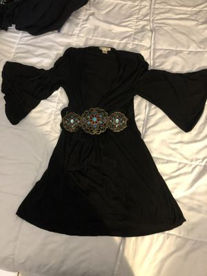 Black Arabian Formal Maxi Dress / Size S for Sale in Pinecrest, FL