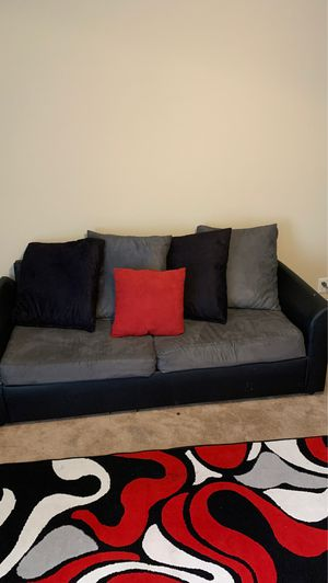 2 piece living room set plus rug for Sale in Savannah, GA