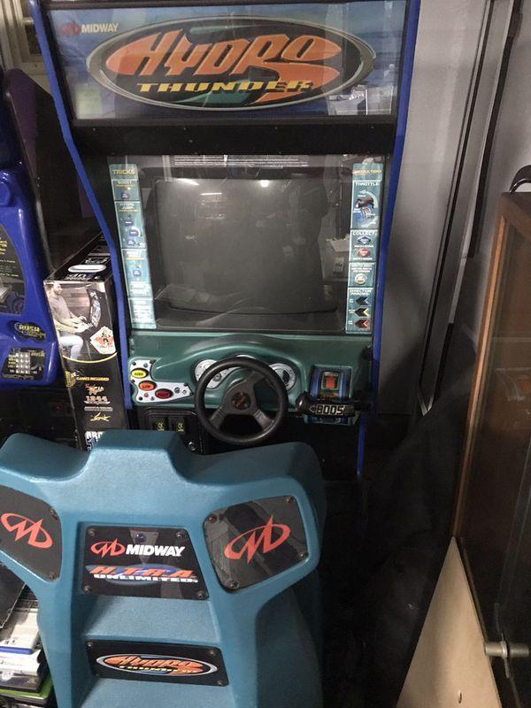 Hydrothunder Arcade Game