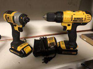 Dewalt 20 v drill set for Sale in Corona, CA