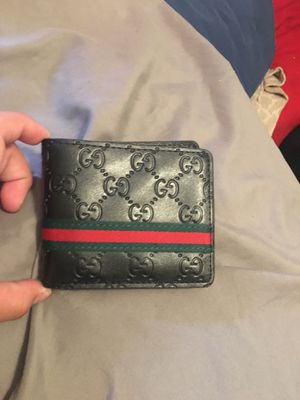 Black leather Gucci wallet for Sale in Denver, CO
