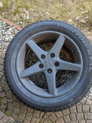 """16"""" rsx Wheels with snow tires for Sale in Rockville, MD"""
