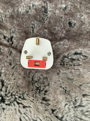 Euro/USA To UK plug Adapter - Fused for Sale in Miami, FL