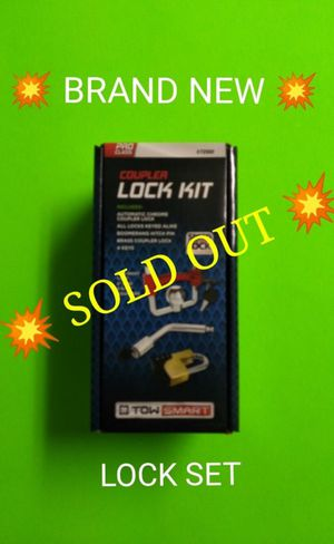 WE JUST SOLD OUT / BRAND NEW TRAILER LOCK SET for Sale in Phoenix, AZ