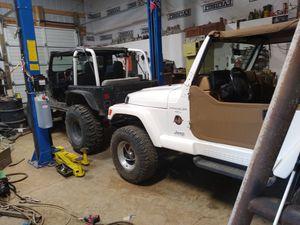 I buy jeep wranglers any condition cj yj tj $3500 for Sale in Clatskanie, OR