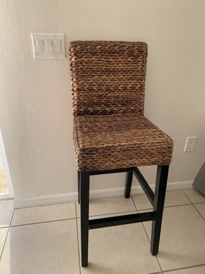Accent chair/ bar stool for Sale in Naples, FL
