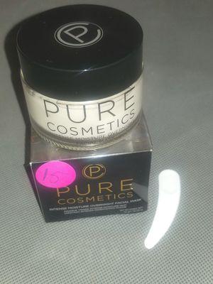 Pure cosmetics intense moisture overnight facial mask for Sale in Phoenix, AZ