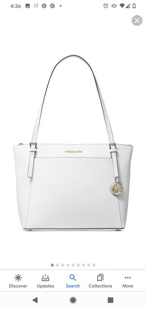 Brand New with tags Michael Kors white tote for Sale in Phoenix, AZ