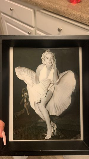 Marilyn Monroe reflective picture for Sale in Paramount, CA